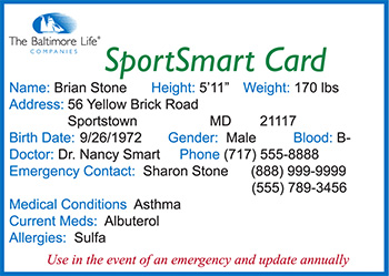Safety Smart Card